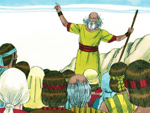 'You are old and your sons do not follow your ways,' they told Samuel. 'Give us a King just like other nations have.'Samuel was displeased but prayed to the Lord. The Lord told him. 'It is not you they have rejected, but they have rejected me as their king.' Samuel warned them of the consequences of choosing a King. – Slide 3