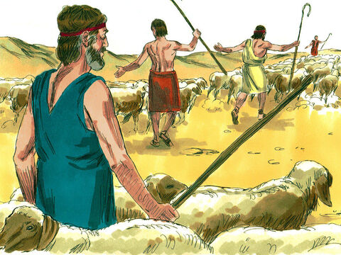 They killed all the weak animals but disobeyed God's instruction and kept the best of the sheep and cattle. They decided to keep some as plunder and others were to be sacrificed to God. – Slide 9