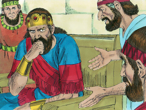 Now King Saul has already outlawed all mediums from the land of Israel. But his servant knew that there was a woman living in Endor who was a medium. – Slide 5