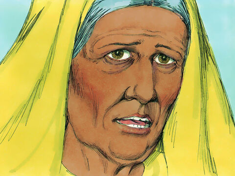 She started telling everyone in Jerusalem who had been awaiting the coming of the Saviourthat the Messiah had finally arrived. – Slide 7