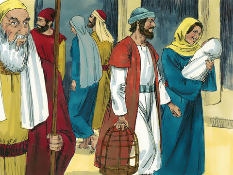 Mary and Joseph returned home.Jesus grew up as a strong, robust boy known for wisdom beyond His years. God poured out his blessings on him. – Slide 8