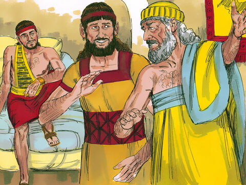 Lot went to find two local men who were pledged to marry his daughters. 'Hurry and get out,' he warned them, 'the Lord is about to destroy this city.' His future sons-in-law thought he was joking and would not leave. – Slide 9