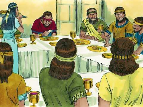 He invited all the other princes, except Solomon, to join him. All the royal officials of Judah were invited but not Nathan the prophet, or Benaiah and David's special guard. – Slide 4