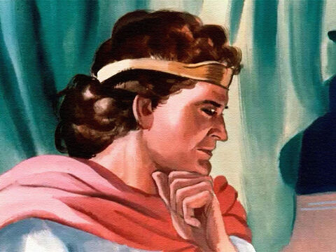 It was a heavy task for the young prince, for Israel was a great nation, but his father reminded him that the Lord would give him wisdom and understanding. – Slide 2