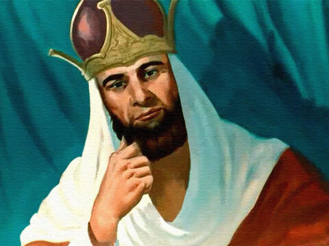 King Solomon looked at them – and they stopped arguing. – Slide 13
