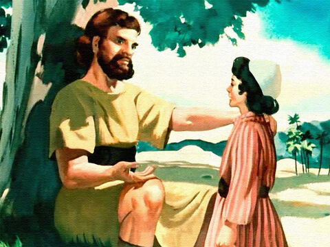 'A wise son hears his father's instructions.' – Slide 33