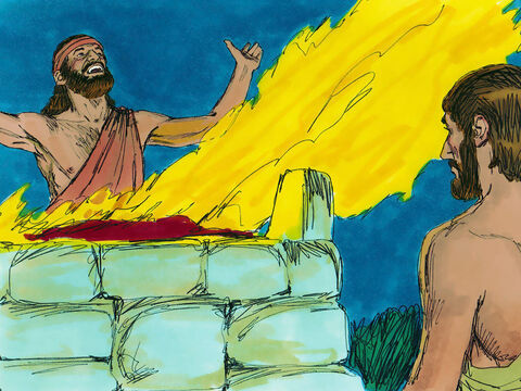 Solomon offered a thousand burnt offerings at the altar. That night, in a dream, God said, 'Ask for whatever you want me to give you.' – Slide 2