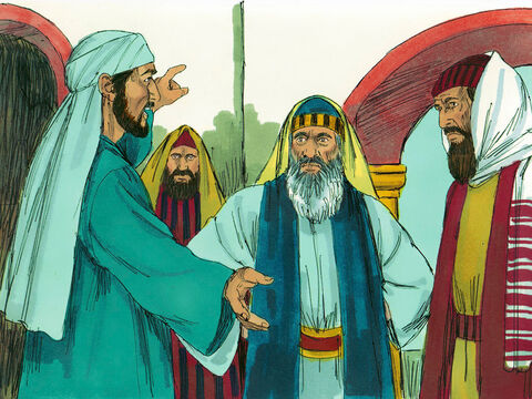 Jews from North Africa, who did not believe Jesus had risen from the dead, argued with Stephen, but the Holy Spirit helped him give wise replies to their taunts. – Slide 8