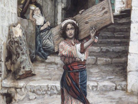 This fulfilled what was said by the prophets: 'He will be called a Nazarene.' <br/>(Matthew 2:23). <br/>The youth of Jesus - James Tissot - Brooklyn Museum. – Slide 14
