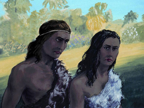 Adam and Eve had many sons and daughters. – Slide 4