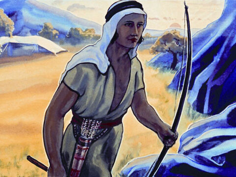 Ishmael is believed to be the father of the Arab nations. – Slide 15