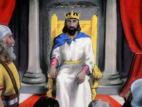 and left him with just one tribe Judah, for the sake of David his father. – Slide 56