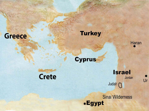 there was the kingdom of Judah in the south, and the kingdom of Israel in the north. – Slide 61