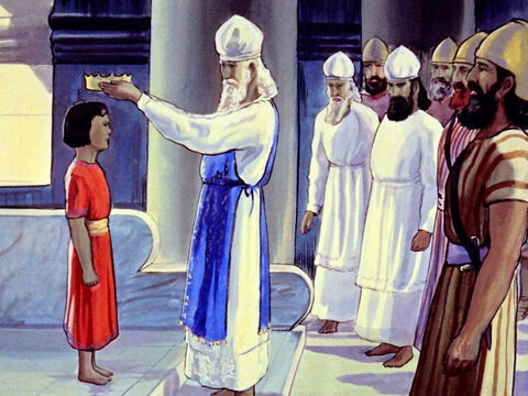 In the year 640 BC the people made eight-year-old Josiah their king. – Slide 10