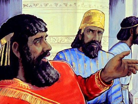 Eventually, Nebuchadnezzar died and his son Belshazzar was appointed king. – Slide 35