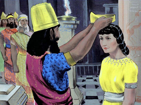 36 years later in the year 479 B.C. the Jewess Esther, became Queen of Persia. – Slide 48