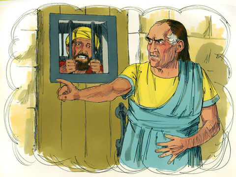 The servant refused and had the man put in prison until he paid the debt. – Slide 8