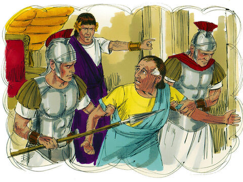 The king was angry and handed his servant over to the jailors to be punished until he paid back all he owed ... – Slide 11