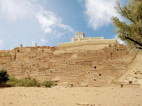 When the star led them to the land of Israel they headed for Jerusalem where Herod the Great was ruler. – Slide 4
