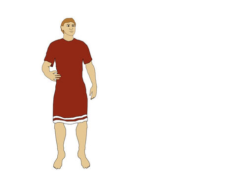 A Roman soldier wore a linen undershirt and a tunic (Cingulum) made of wool. – Slide 1