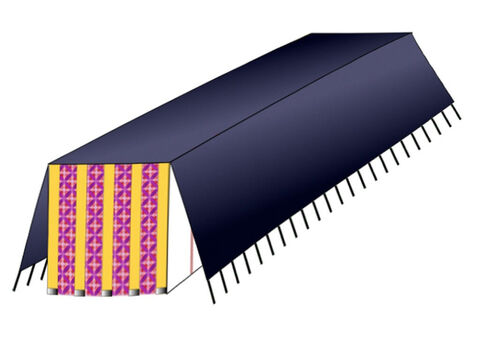 The last covering was made of waterproof badger skins. – Slide 12