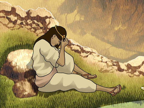 With Sarai's encouragement Abram had relations with Hagar and she became pregnant. Then Sarai became jealous and treated Hagar cruelly. In desperation Hagar fled from Sarai and Abram into the wilderness. Genesis 16:3-6 – Slide 2