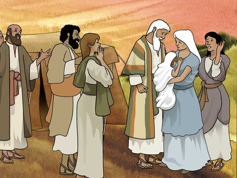 ... the Lord did for Sarah as He had promised. So Sarah conceived and bore a son to Abraham in his old age, at the appointed time of which God had spoken to him. Abraham called the name of his son who was born to him, whom Sarah bore to him, Isaac. Genesis 21:1b-3 (NASB) – Slide 7