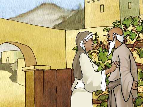 Concerning the priest Zechariah and his wife Elizabeth; 'They were both righteous in the sight of God, walking blamelessly in all the commandments and requirements of the Lord. And yet they had no child, because Elizabeth was infertile, and they were both advanced in years.' Luke 1:6-7 (NASB) – Slide 1