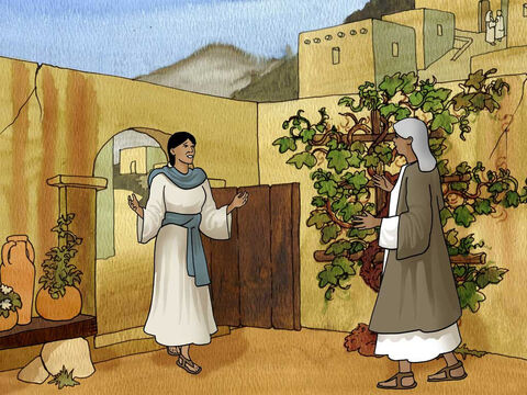 'Now at this time Mary set out and went in a hurry to the hill country, to a city of Judah, and she entered the house of Zechariah and greeted Elizabeth. When Elizabeth heard Mary's greeting, the baby leaped in her womb, and Elizabeth was filled with the Holy Spirit.' Luke 1:39-41 (NASB) – Slide 9