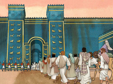 King Nebuchadnezzar of Babylon conquered Judah 'Then he led into exile all the people of Jerusalem and all the commanders and all the valiant warriors, ten thousand exiles, and all the craftsmen and the smiths. None were left except the poorest people of the land.' 2 Kings 24:14 (NASB) – Slide 3