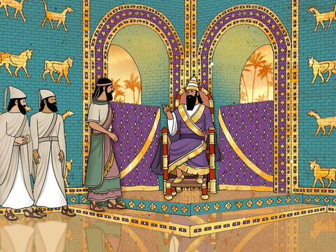 By God's will and power, the Jewish people ministered to the nation of Babylon and taught them about the one true God. As the years passed, Daniel continued to serve King Nebuchadnezzar and also the kings that replaced him. (Daniel 3-5). – Slide 5