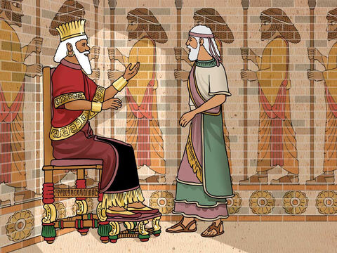 'Darius the Mede started ruling the kingdom at about the age of sixty-two. ... It pleased Darius to appoint 120 satraps over the kingdom, to be in charge of the whole kingdom, and over them, three commissioners (of whom Daniel was one).' Daniel 5:31, 6:1-2a (NASB) – Slide 6