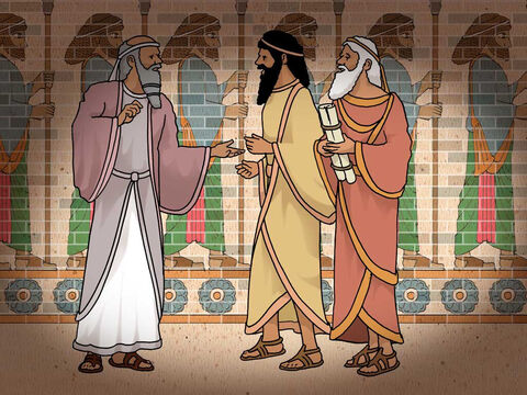"""'Then the commissioners and satraps began trying to find grounds of accusation against Daniel regarding government affairs; but they could find no grounds of accusation... Then these men said, """"We will not find any grounds to accuse Daniel unless we find it against him regarding the law of his God.""""' Daniel 6:4a-5 (NASB) – Slide 7"""