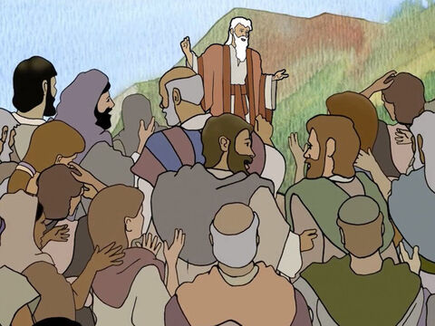 The Israelites were not ruled by a king, instead God raised spiritual leaders called Judges who did their best to direct the people to serve God. – Slide 3