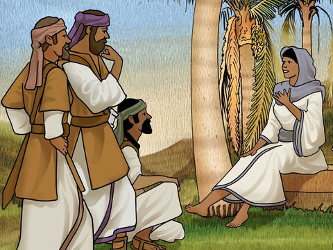 Barak replied, 'I will go but only if you go with me. If you won't go with me, I won't go.' 'I will go with you,' said Deborah, 'But the credit for victory will not be yours, for the Lord will deliver Sisera into the hands of a woman.' – Slide 10