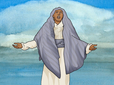 The cruel Canaanites and powerful Sisera were no longer a threat to the Israelites. Barak and Deborah celebrated by singing praise to God (Judges 5). By trusting and obeying God the Israelites then enjoyed 40 years of peace. – Slide 19