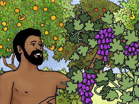 Then the Lord God took the man and put him into the garden of Eden to cultivate it and keep it. – Slide 1