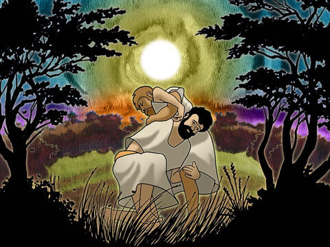 It was time to stop. Jacob said: 'I will not let you go unless you bless me.' So he said to him, 'What is your name?' And he said, 'Jacob.' He said, 'Your name shall no longer be Jacob, but Israel; for you have striven with God and with men and have prevailed.' Genesis 32:26b-28 (NASB) – Slide 15