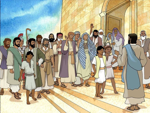 When the Jewish religious leaders heard this they were outraged. They were now more determined to kill Jesus, because He was not only breaking their Sabbath laws, but also was calling God His own Father, making Himself equal with God. – Slide 8