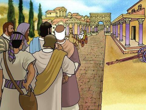 Jesus agreed to go out of His way to help the 'Gentile' Roman Centurion and his servant. The Centurion lived away from the Jewish people, on the outskirts of Capernaum, where there was a Roman garrison. Many Jews would never go into a Gentile's house. – Slide 6