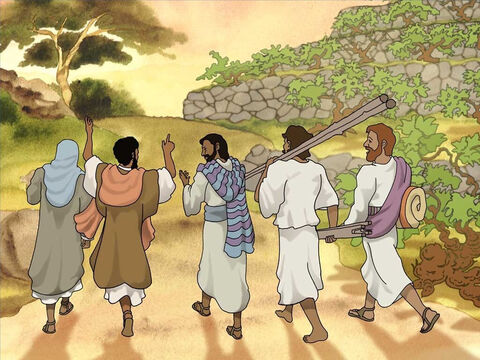 The once crippled man and his friends went home glorifying God. Many people were struck with astonishment, thinking about the remarkable things they saw that day. And they too glorified God for what He did. – Slide 10