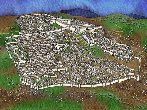 Jesus travels to Jerusalem with His disciples to celebrate the Passover. Jesus' disciples are worried about being in Jerusalem because they know that some of the Jewish religious leaders want to put Jesus to death. (Matthew 26:3-4). Note: The maps portray possible locations. – Slide 1