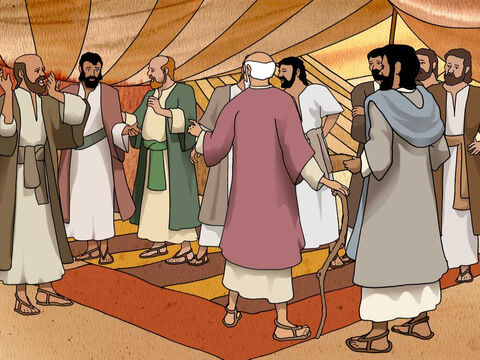 When they got home they told their father of the struggles they had to get grain. And that the Egyptian wanted them to return with Benjamin. Jacob said, 'You have bereaved me of my children: Joseph is no more, and Simeon is no more, and you would take Benjamin; all these things are against me.' Genesis 42:36 (NASB) – Slide 9