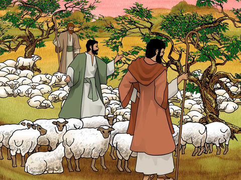 When they saw him from a distance and before he came close to them, they plotted against him to put him to death. They said to one another, 'Here comes this dreamer! Now then, come and let us kill him and throw him into one of the pits ...' Genesis 37:18-20a (NASB) – Slide 5