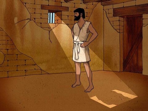 Everything came to pass just as Joseph told the cupbearer and the baker. The cupbearer returned to serve Pharaoh and forgot all about Joseph. Nothing changed for Joseph and he remained a prisoner for many days to come. (Genesis 40:20-23) – Slide 12