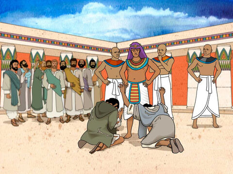 Judah pleaded with Joseph. 'Now, therefore, please let your servant remain as a slave instead of the lad and let him return  with his brothers. For how shall I go up to my father if the lad is not with me—for fear that I see the evil that would overtake my father?' Genesis 44:33-34 (NASB) – Slide 11