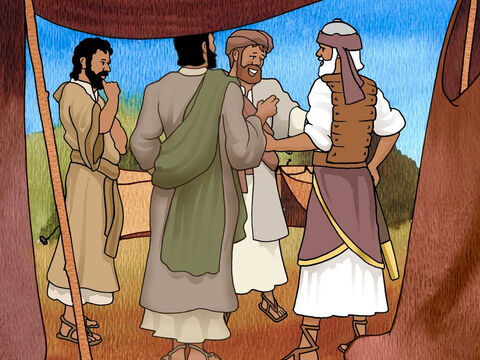 The two spies reported back to Joshua and said: 'Surely the Lord has given all the land into our hands; moreover, all the inhabitants of the land have melted away before us.' Joshua 2:24b (NASB). Joshua rose early the next morning and led the people close to the Jordan River. Joshua 3:1 – Slide 9