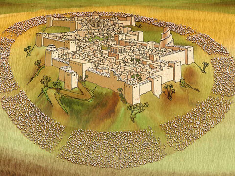 The Lord said to Joshua, 'See, I have given Jericho into your hand, with its king and the valiant warriors...' Joshua 6:2 (NASB) The Lord then proceeded to tell Joshua how to defeat Jericho. Joshua 6 – Slide 17