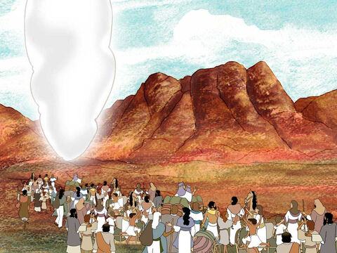 Three months after the sons of Israel left Egypt they arrived at the wilderness of Sinai. The people set camp next to the mountain. God then called Moses away from the people up to the mountain to speak to him. This is where God would reveal His will for His people. Exodus 19 – Slide 7
