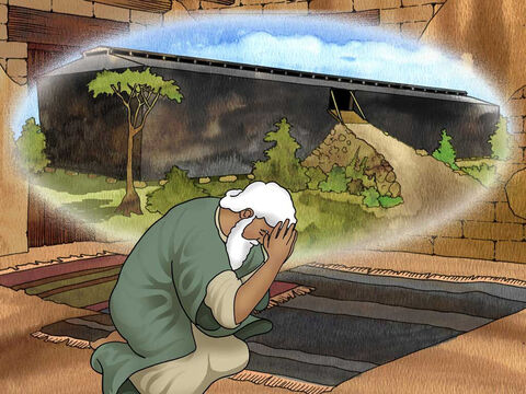 'Make for yourself an ark of gopher wood; you shall make the ark with rooms, and shall cover it inside and out with pitch. This is how you shall make it: the length of the ark three hundred cubits, its breadth fifty cubits, and its height thirty cubits.' Genesis 6:14-15 (NASB) – Slide 5